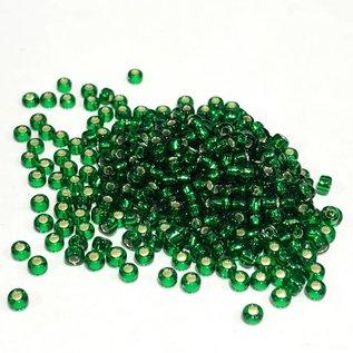 MIYUKI Rocaille 8-0 Silver Lined Green 25g