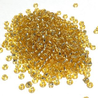 MIYUKI Rocaille 8-0 Silver Lined Gold 25g