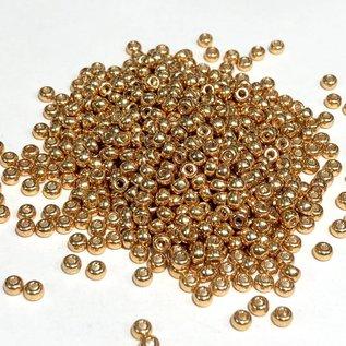 MIYUKI Rocaille 8-0 Galvanized Gold 25g