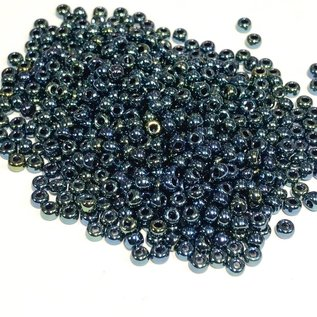 MIYUKI Rocaille 8-0 Gunmetal Iris 25g
