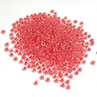 MIYUKI Rocaille 8-0 Coral Lined Crystal 25g