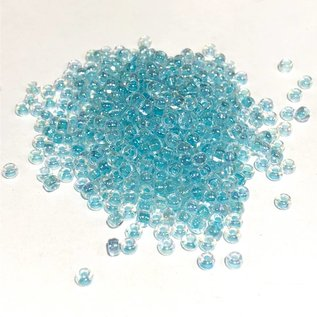 MIYUKI Rocaille 8-0 Glacier Blue Lined Crystal 25g