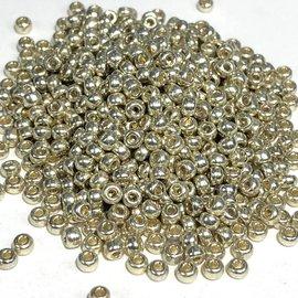 MIYUKI Rocaille 8-0 Duracoat Galv Silver 25g