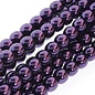 PRECIOSA Crystal Pearls 3mm Purple 150Bd
