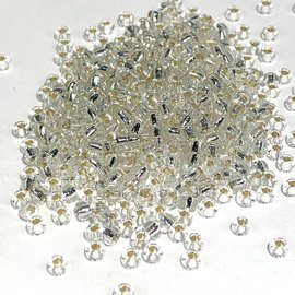 MIYUKI Rocaille 8-0 Silver Lined Crystal 25g