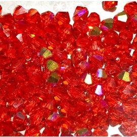 Preciosa Crystal 4mm Bicone Hyacinth AB 144pcs