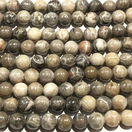 Petoskey Stone (Fossilized Coral) 8mm Round