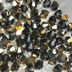 Preciosa Crystal 3mm Bicone Aurum 1/2 Coat 144pcs
