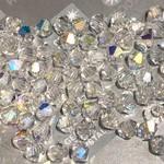 Preciosa Crystal 3mm Bicone Crystal AB 144pcs