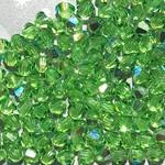 Preciosa Crystal 3mm Bicone Peridot AB 144pcs