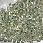 Preciosa Crystal 3mm Bicone Crystal Viridian 144pcs