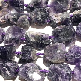 AMETHYST Rough Natural 18-35mm Nuggets