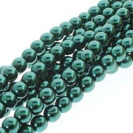 PRECIOSA Crystal Pearls 4mm Deep Emerald 120pcs