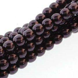 PRECIOSA Crystal Pearls 4mm Eggplant 120pcs