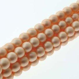 PRECIOSA Crystal Pearls 4mm Matte Pink 120pcs