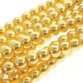 PRECIOSA Crystal Pearls 4mm Sun Glow 120pcs