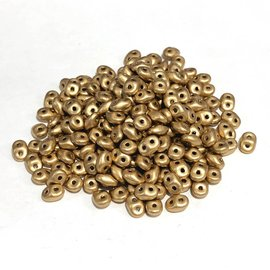 SuperDuo Crystal Bronze Pale Gold 22.5g Tube