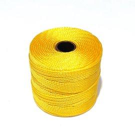 S-Lon Nylon Bead Cord Golden Yellow  77Yd Roll