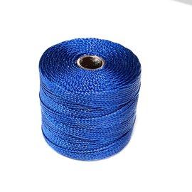 S-Lon Nylon Bead Cord Capri Blue .4mm 77 Yd Roll