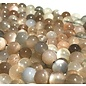 Moonstone Brown/Peach/White 8mm Round