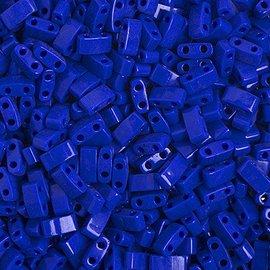 MIYUKI Tila Half Cut Opaque Royal Blue Luster 10g