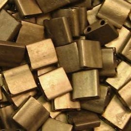 MIYUKI Tila Matte Metallic Dark Bronze 10g