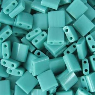 MIYUKI Tila Opaque Turquoise Green 10g