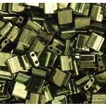 MIYUKI Tila Transparent Olive Green Gold 10g
