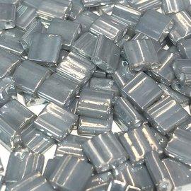 MIYUKI Tila Galvanized Grey Lustre 10g