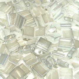 MIYUKI Tila Opaque White Pearl Ceylon 10g