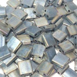 MIYUKI Tila Matte Metallic Silver Grey 10g