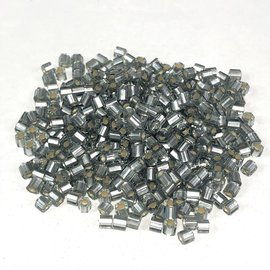TOHO Hex 8-0 S/L Frosted Black Diamond 20g Tb