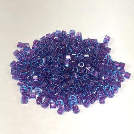 TOHO Hex 8-0 Aqua/Purple Lined 20g Tb