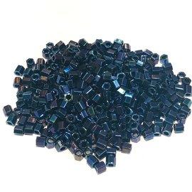 TOHO Hex 8-0 Metallic Cosmos 20g Tb