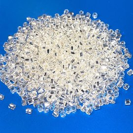 TOHO Hex 11-0 Sliver-Lined Crystal 20g Tb