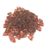 CzechMates TRIANGLE Rose Gold Topz Lustr 10g