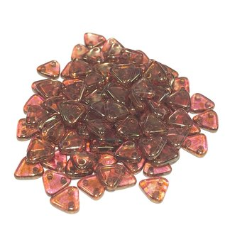 CzechMates TRIANGLE Rose Gold Topz Lustr 10g