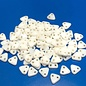 CzechMates TRIANGLE Opaque White Luster 10g