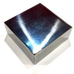 "Pro Quality Polished Steel Bench Block 2.5"" x 2.5"" x 1"""