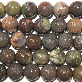 Rhyolitic JASPER Natural 6mm Round
