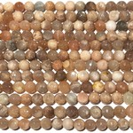 SUNSTONE Grade B 8mm Faceted