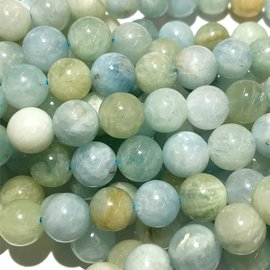 AQUAMARINE Natural Colours 8mm Round