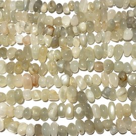 MOONSTONE White Natural 8 - 12mm Nuggets