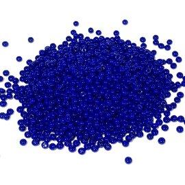PRECIOSA 10-0 Seed Beads Opaque Dark Royal Blue 22.5g Tube