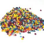 PRECIOSA 10-0 Seed Beads Opaque Multi Luster 22.5g
