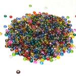 PRECIOSA 10-0 Seed Beads Silver Lined Assorted 22.5g