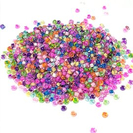 PRECIOSA 10-0 Seed Beads Colour Lined Crystal MIX 22.5g