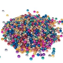 PRECIOSA 10-0 Seed Beads Metallic Multi 22.5g