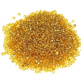 PRECIOSA 10-0 Seed Beads Silver Lined Lt Gold 22.5g