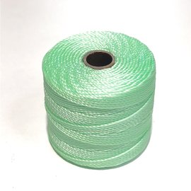 S-Lon Nylon Bead Cord Pastel Mint Green .4mm 77Yd Roll